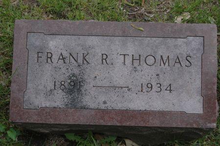 THOMAS, FRANK R. - Clinton County, Iowa | FRANK R. THOMAS