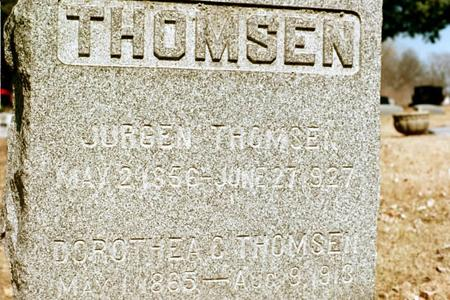 THOMSEN, DOROTHEA CHRISTINE - Clinton County, Iowa | DOROTHEA CHRISTINE THOMSEN