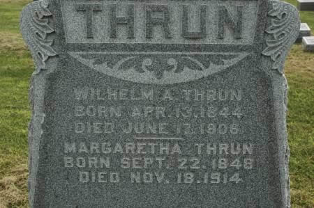 THRUN, MARGARETHA - Clinton County, Iowa | MARGARETHA THRUN