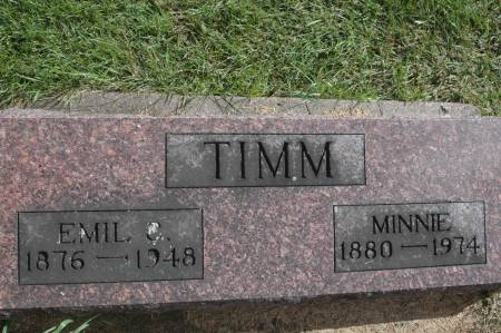 TIMM, EMIL - Clinton County, Iowa | EMIL TIMM