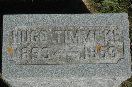 TIMMCKE, HUGO - Clinton County, Iowa | HUGO TIMMCKE