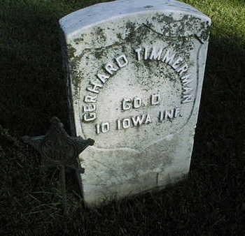 TIMMERMAN, GERHARD - Clinton County, Iowa | GERHARD TIMMERMAN