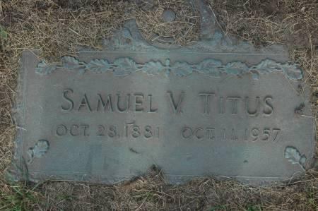 TITUS, SAMUEL V. - Clinton County, Iowa   SAMUEL V. TITUS