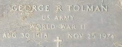 TOLMAN, GEORGE R. - Clinton County, Iowa | GEORGE R. TOLMAN