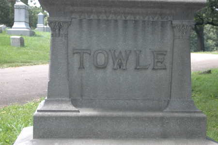 TOWLE, MONUMENT - Clinton County, Iowa | MONUMENT TOWLE