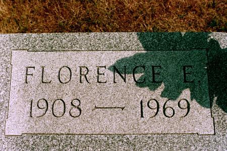 TRAVER, FLORENCE E. - Clinton County, Iowa | FLORENCE E. TRAVER