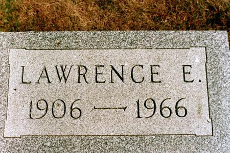 TRAVER, LAWRENCE E. - Clinton County, Iowa | LAWRENCE E. TRAVER