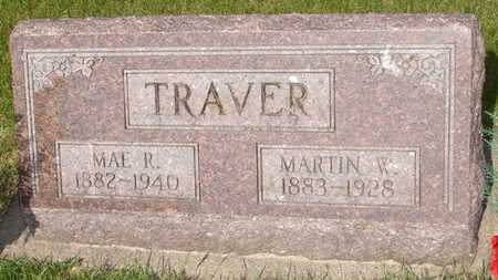 TRAVER, MAE R. - Clinton County, Iowa | MAE R. TRAVER