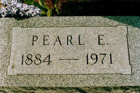 TRAVER, PEARL E - Clinton County, Iowa | PEARL E TRAVER