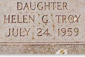 TROY, HELEN G. - Clinton County, Iowa | HELEN G. TROY