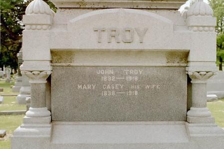 TROY, MARY - Clinton County, Iowa | MARY TROY