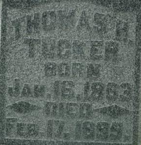 TUCKER, THOMAS H. - Clinton County, Iowa | THOMAS H. TUCKER