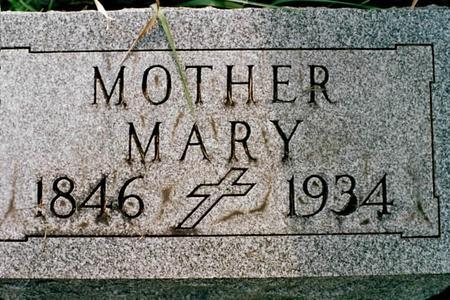TUMPANE, MARY - Clinton County, Iowa | MARY TUMPANE