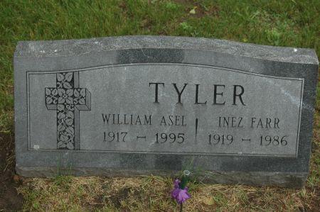 TYLER, INEZ - Clinton County, Iowa   INEZ TYLER