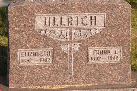 ULLRICH, ELIZABETH - Clinton County, Iowa   ELIZABETH ULLRICH