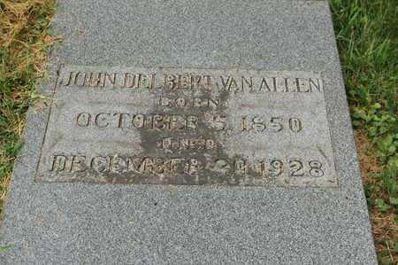 VAN ALLEN, JOHN DELBERT - Clinton County, Iowa | JOHN DELBERT VAN ALLEN