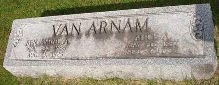 VAN ARNAM, BENJAMINE - Clinton County, Iowa | BENJAMINE VAN ARNAM