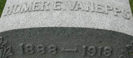 VAN EPPS, HOMER E. - Clinton County, Iowa   HOMER E. VAN EPPS