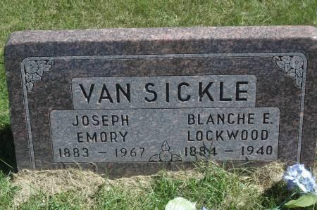 VAN SICKLE, BLANCHE E. - Clinton County, Iowa   BLANCHE E. VAN SICKLE