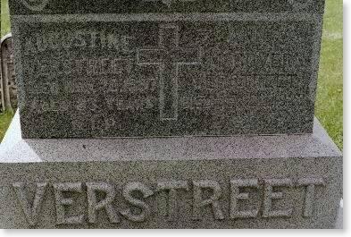 VERSTREET, AUGUST & ANNE C. MCGOVERN - Clinton County, Iowa | AUGUST & ANNE C. MCGOVERN VERSTREET