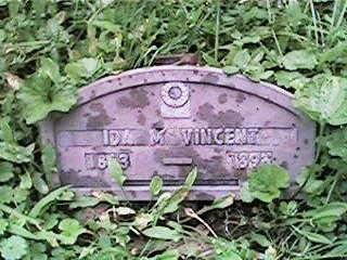 VINCENT, IDA M - Clinton County, Iowa | IDA M VINCENT