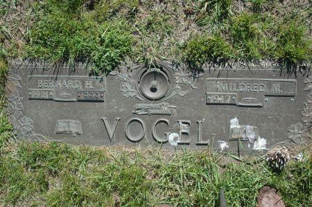 VOGEL, BERNARD H. - Clinton County, Iowa | BERNARD H. VOGEL