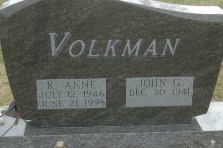 VOLKMAN, JOHN G. - Clinton County, Iowa   JOHN G. VOLKMAN