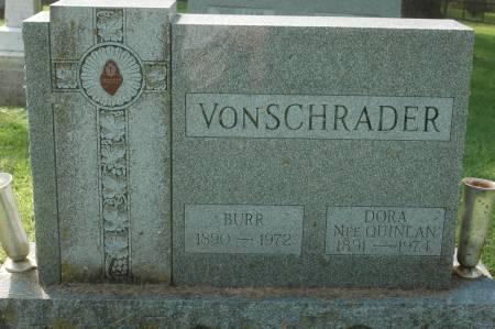VON SCHRADER, BURR - Clinton County, Iowa | BURR VON SCHRADER