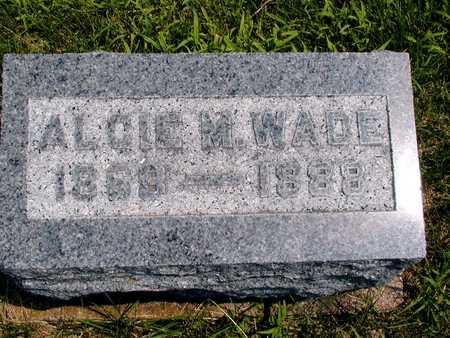WADE, ALCIE MARY - Clinton County, Iowa | ALCIE MARY WADE