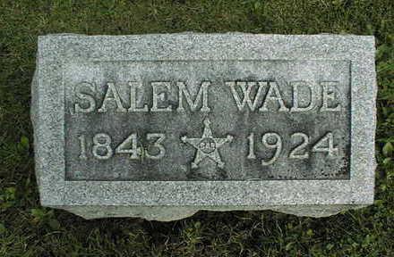 WADE, SALEM - Clinton County, Iowa | SALEM WADE