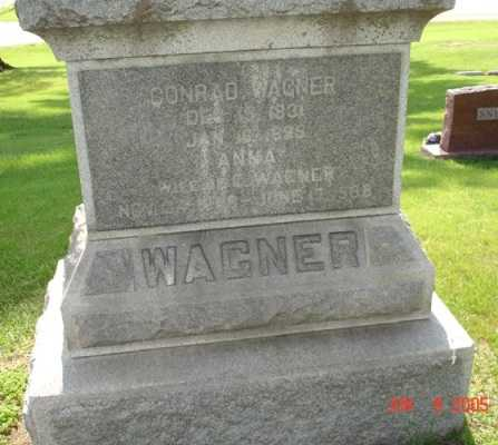 WAGNER, ANNA - Clinton County, Iowa | ANNA WAGNER