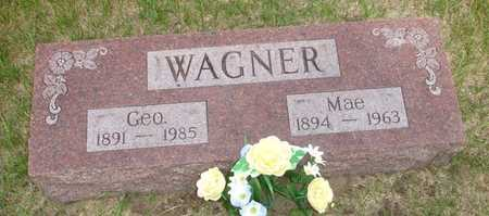 WAGNER, MAE - Clinton County, Iowa | MAE WAGNER