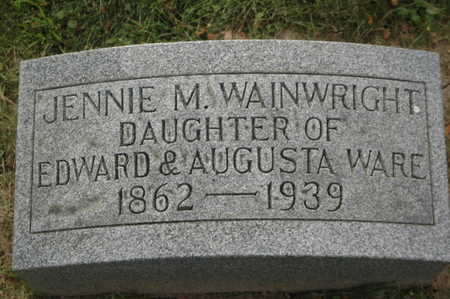 WAINWRIGHT, JENNIE M. - Clinton County, Iowa | JENNIE M. WAINWRIGHT