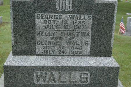 WALLS, GEORGE - Clinton County, Iowa | GEORGE WALLS