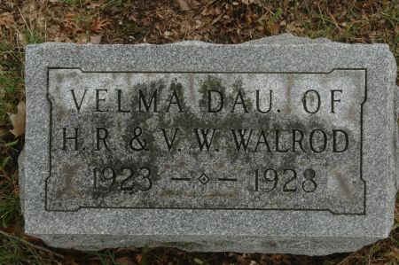 WALROD, VELMA - Clinton County, Iowa | VELMA WALROD