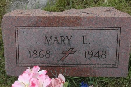 WALSH, MARY L. - Clinton County, Iowa | MARY L. WALSH