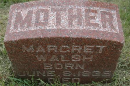 WALSH, MARGARET - Clinton County, Iowa | MARGARET WALSH