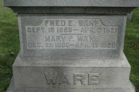 WARE, FRED E. - Clinton County, Iowa   FRED E. WARE