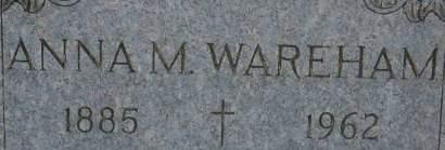 WAREHAM, ANNA M. - Clinton County, Iowa | ANNA M. WAREHAM