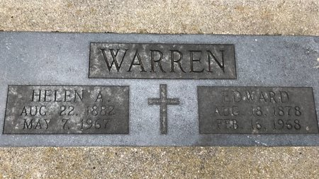 WARREN, HELEN A. - Clinton County, Iowa | HELEN A. WARREN