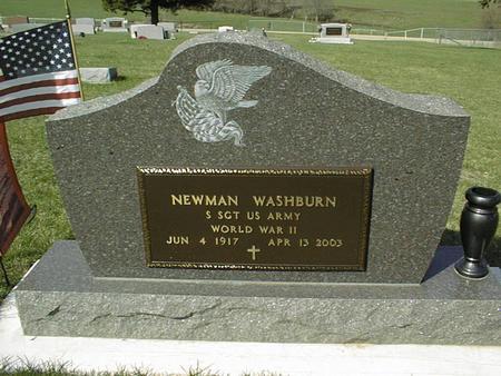 WASHBURN, NEWMAN - Clinton County, Iowa | NEWMAN WASHBURN
