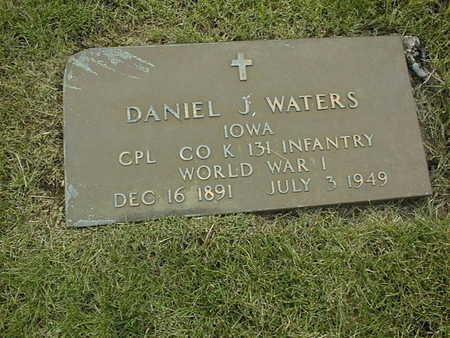 WATERS, DANIEL J. - Clinton County, Iowa | DANIEL J. WATERS