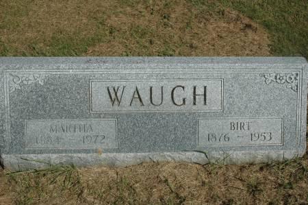 WAUGH, BIRT - Clinton County, Iowa | BIRT WAUGH