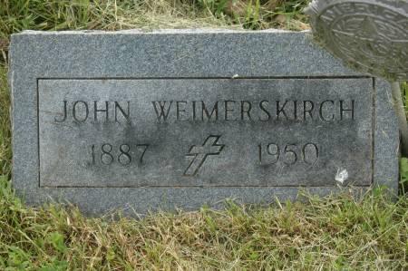 WEIMERSKIRCH, JOHN - Clinton County, Iowa | JOHN WEIMERSKIRCH