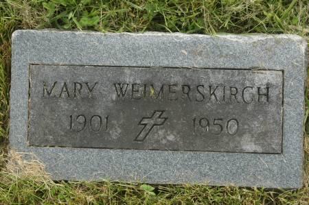 WEIMERSKIRCH, MARY - Clinton County, Iowa | MARY WEIMERSKIRCH