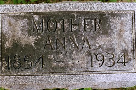 DUHR WEINBECK, ANNA - Clinton County, Iowa | ANNA DUHR WEINBECK