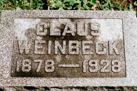 WEINBECK, CLAUS - Clinton County, Iowa | CLAUS WEINBECK