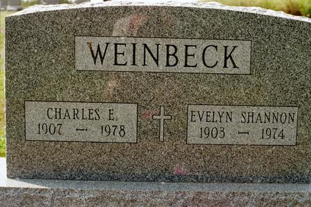 WEINBECK, EVELYN - Clinton County, Iowa | EVELYN WEINBECK