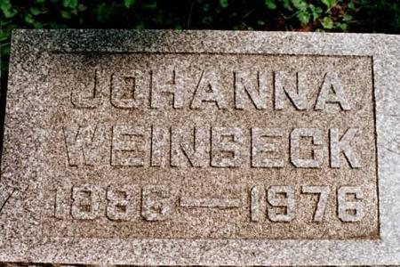 WEINBECK, JOHANNA - Clinton County, Iowa | JOHANNA WEINBECK