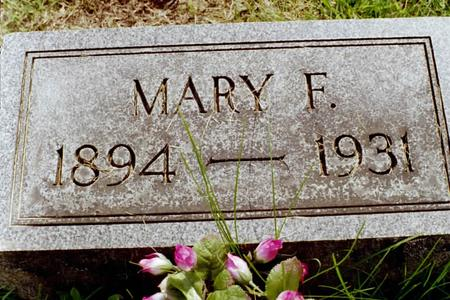 WEINBECK, MARY F. - Clinton County, Iowa | MARY F. WEINBECK